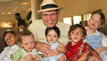 Dr. Mark Borchert and kids
