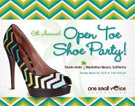 Open Toe Shoe Party